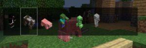 выбор образа в Minecraft