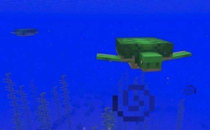 Черепаха в Майнкрафт