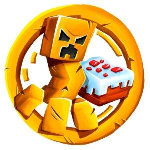 логотип сервера майнкрафт