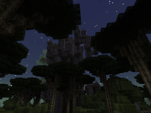 сумеречный лес майнкрафт
