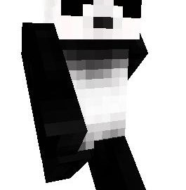 Скин панды для Майнкрафт