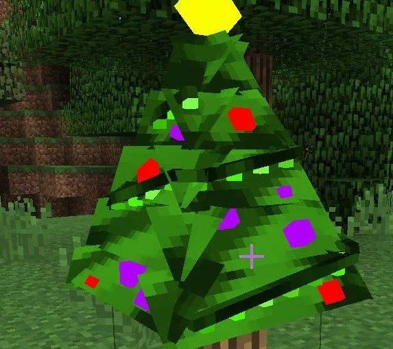 Decoratable Christmas Trees