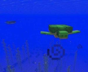 Черепаха Minecraft