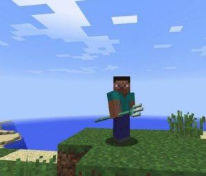 Трезубец Minecraft