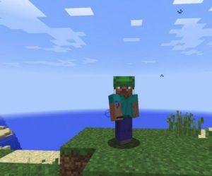 Черепаший шлем в Minecraft