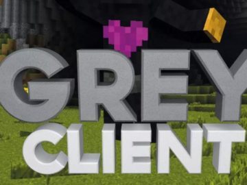 Grey Client Minecraft