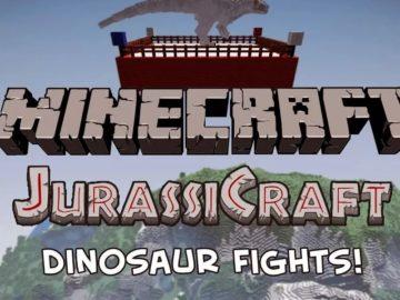 Jurassicraft Майнкрафт
