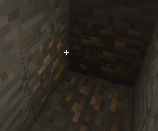 железная руда майнкрафт