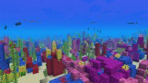 кораллы майнкрайфт
