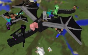 дракон края Minecraft