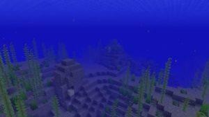 подводные руины майнкрафт