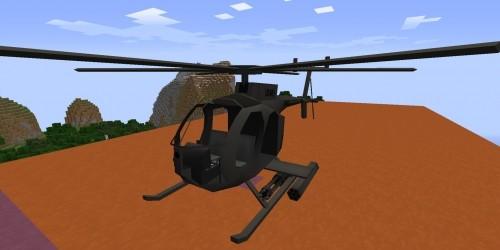 Вертолет для Minecraft