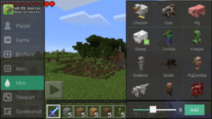 лаунчер Minecraft Pocket Edition