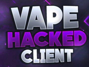 Предлагаю Вашему вниманию взломанную версию популярного Vape Client для Майнкрафт.