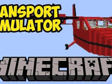 Transport Simulator Minecraft