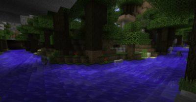 мод на создание рек в minecraft