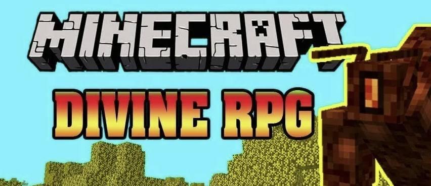 Divine RPG лого