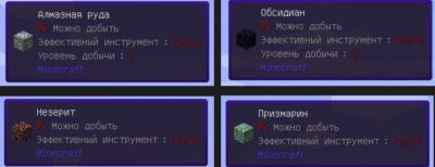 описание блоков